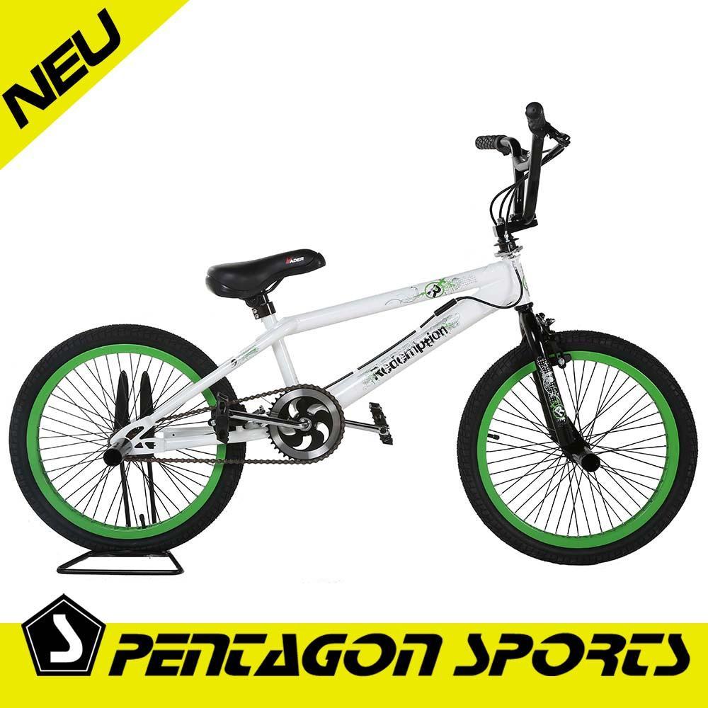 bmx 20 bike fahrrad rad freestyle 4x pegs rotor. Black Bedroom Furniture Sets. Home Design Ideas