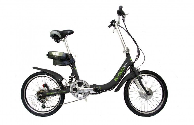 20 zoll alu fahrrad e bike pedelec klappbar viking e go ebike elektro rad ebay. Black Bedroom Furniture Sets. Home Design Ideas