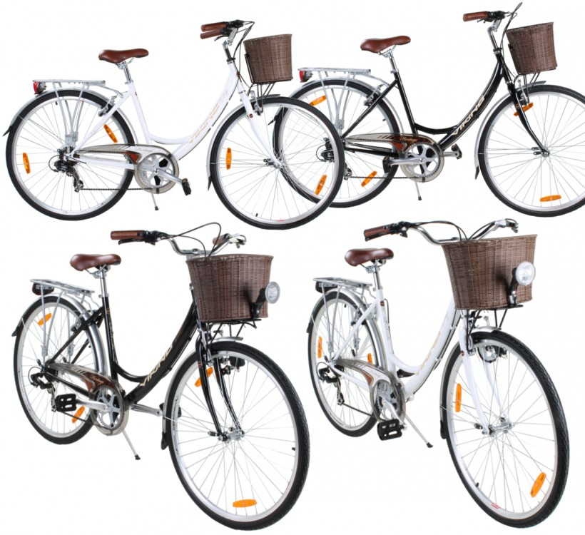 damenfahrrad 28 zoll citibike cityrad damenrad viking prelude trekkingrad korb ebay. Black Bedroom Furniture Sets. Home Design Ideas