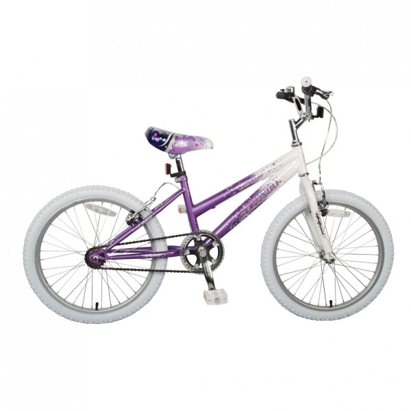 m dchen fahrrad rad kinderfahrrad concept enchanted 20 oder 18 zoll pink weiss ebay. Black Bedroom Furniture Sets. Home Design Ideas
