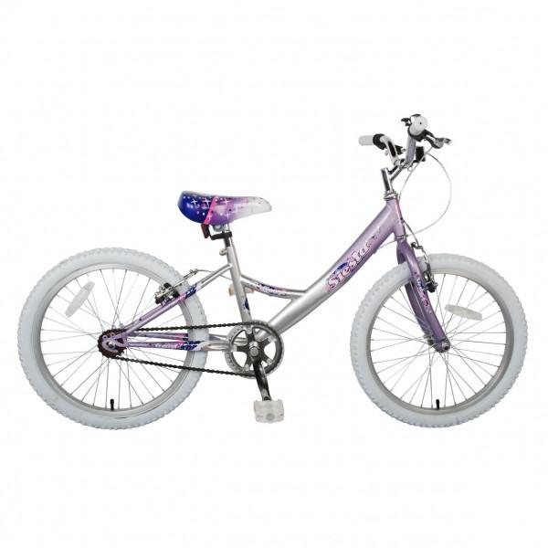 m dchen fahrrad rad kinderfahrrad concept siesta 20 oder 18 zoll pink weiss ebay. Black Bedroom Furniture Sets. Home Design Ideas