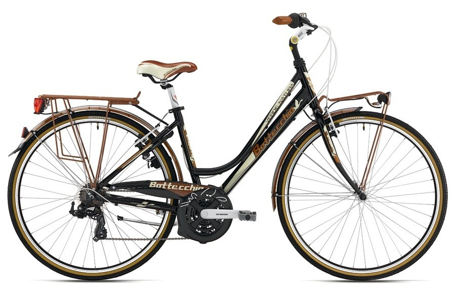 28 trekking bike fahrrad dynamo gep cktr ger rad damen bottecchia 753 city ebay. Black Bedroom Furniture Sets. Home Design Ideas