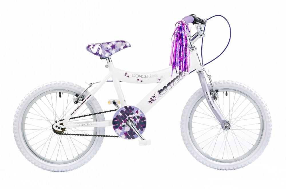 18 zoll concept secret kinderfahrrad m dchen fahrrad kinderrad ebay. Black Bedroom Furniture Sets. Home Design Ideas
