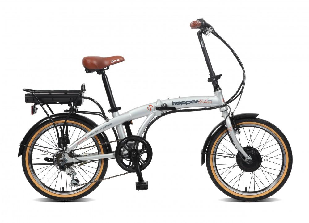 ebike pieghevole viking hopper urban 20 pollici bicicletta. Black Bedroom Furniture Sets. Home Design Ideas