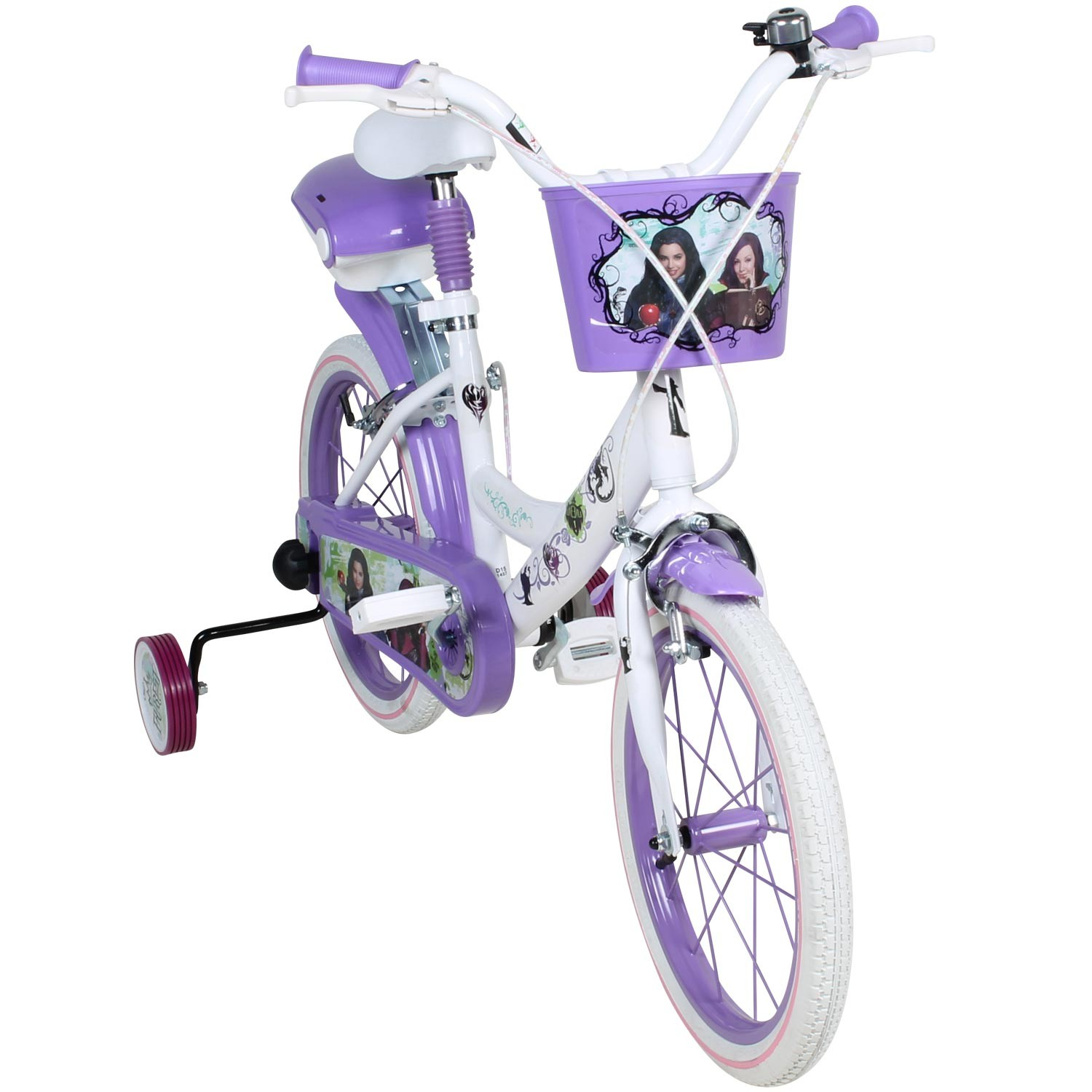 16 zoll disney descendants kinderfahrrad fahrrad. Black Bedroom Furniture Sets. Home Design Ideas