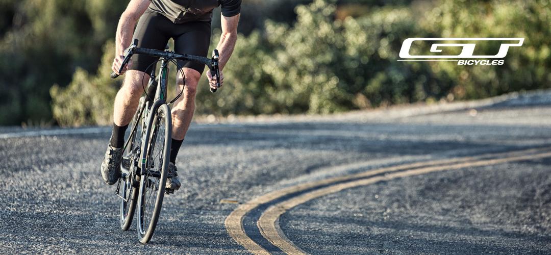 Hochwertige Bikes von GT - MTB, Cross, Rennrad. Für jeden was dabei!