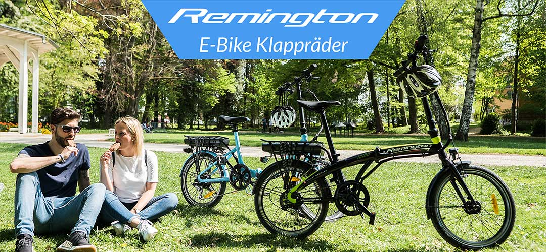 Remington - E-Bike Klapprad, Pedelec Faltrad